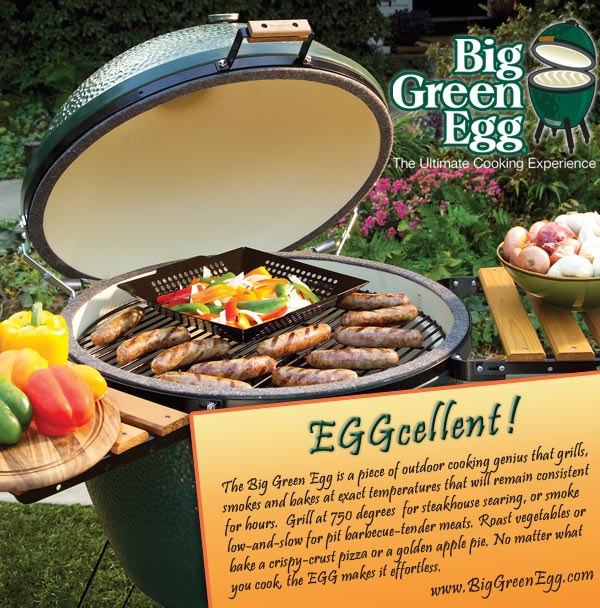 Big Green Egg Yabba Dabba Que