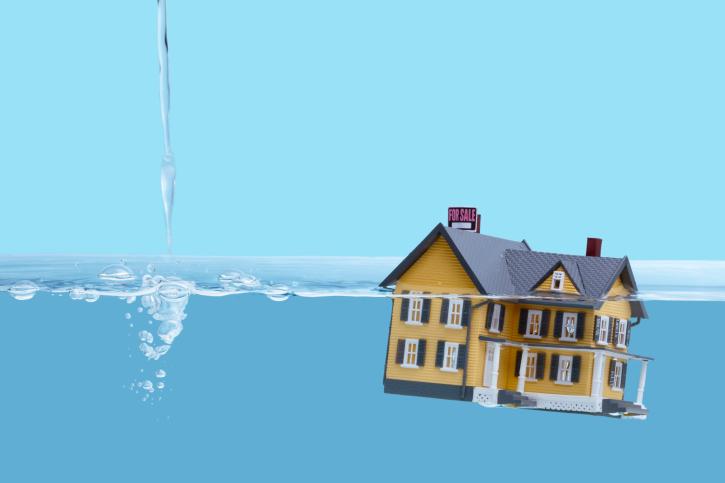 home underwater?