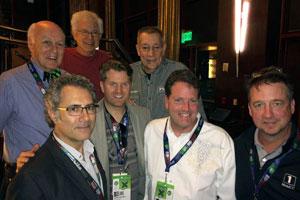 Lommen Abdo lawyers at SXSW Bob Donnelly, Ken Abdo, John Simson, Adam Gislason, Paul Bezilla, Tim Matson and Dan Young