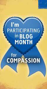 Blog Month badge