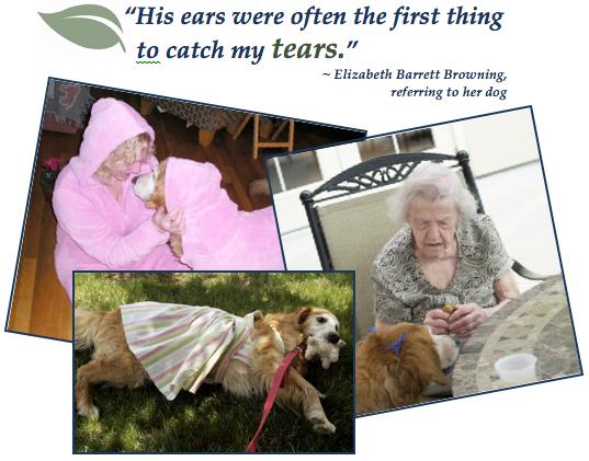 New Elizabeth with Casey Dog