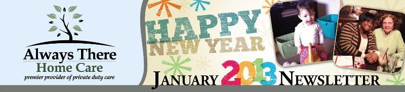 January 2013 Header