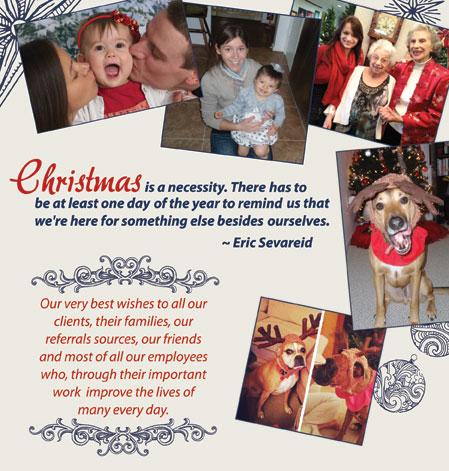 Christmas Collage Message