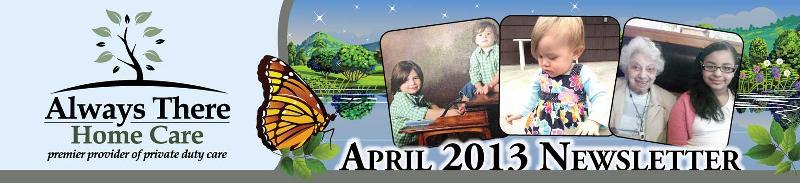 April Header Image