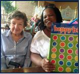 Mary Elizabeth Celebrates a Birthday