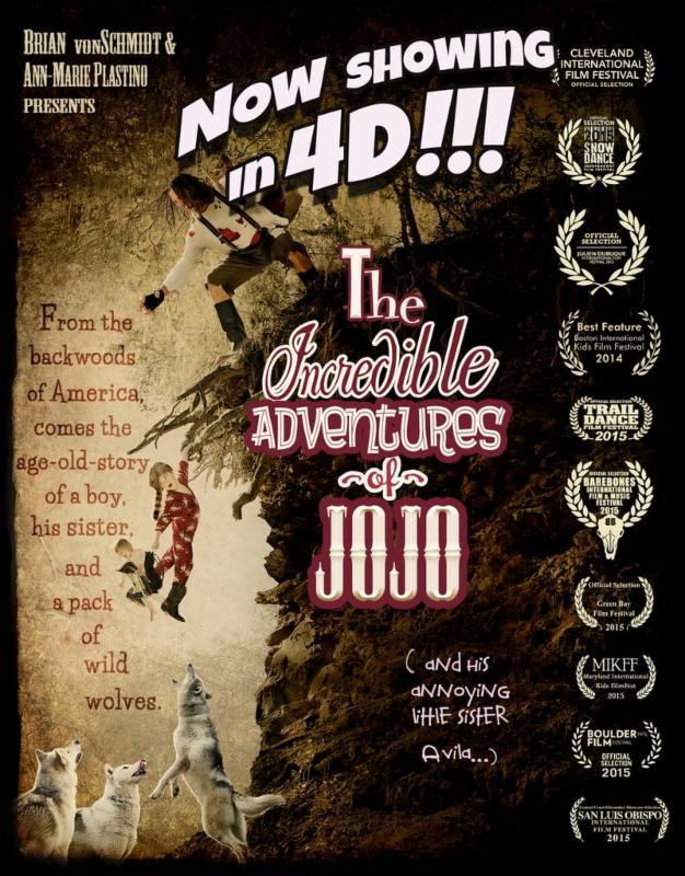 Incredible Adventures of JoJo Poster 2