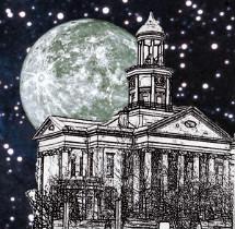 Haunted Vicksburg Logo