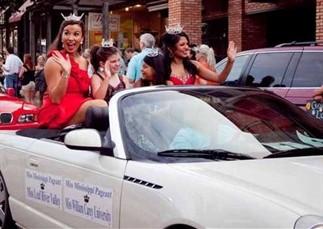 Miss MS parade