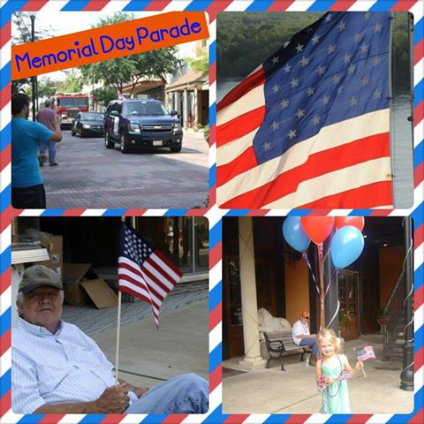 Memorial Day Parade Collage