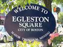 Egleston Square Welcome Sign