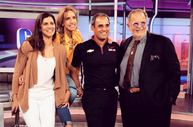 Montoya with El Gordo y la Flaca