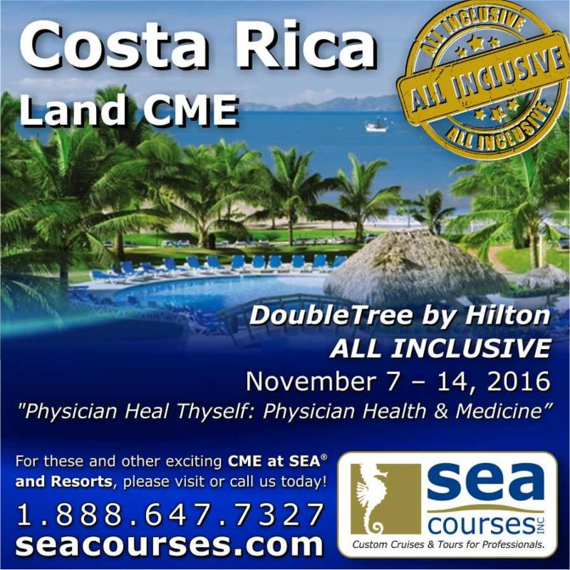 Join us in Costa Rica for this exciting CME at a family friendly all inclusive