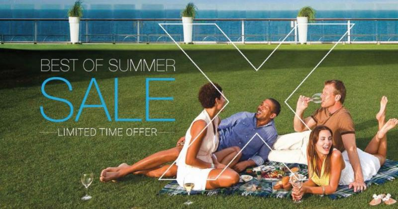 Best of Summer Sale with Celebrity Cruises