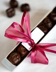 Dean's Sweets truffle box