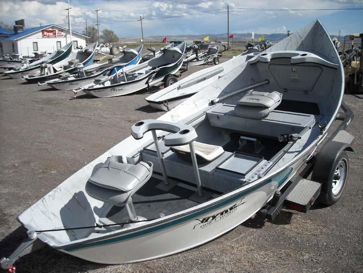 16.8 High Side Drift Boat