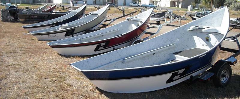 2011 Hyde Drift Boat Model
