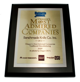 PBJ Most Admired Award 2009