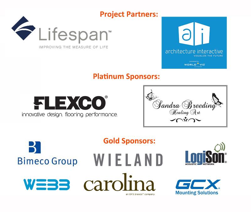 Sponsored by Lifespan, World Viz, Flexco, Sandra Breeding Healing Art, Bimeco, Wieland, LogiSon, GCX, OFS, Webb Shade
