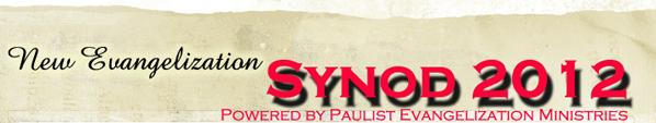 Synod 2012 Blog Mast