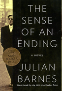the Sense of an Ending book club pick for march 2013