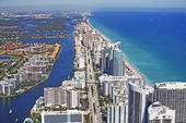 Ariel View of Fort Lauderdale