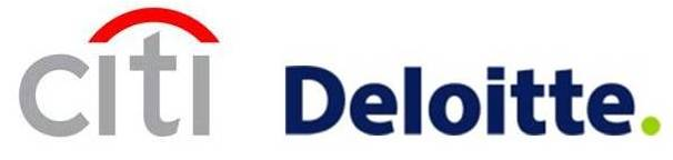 Citi and Deloitte Corporate logos