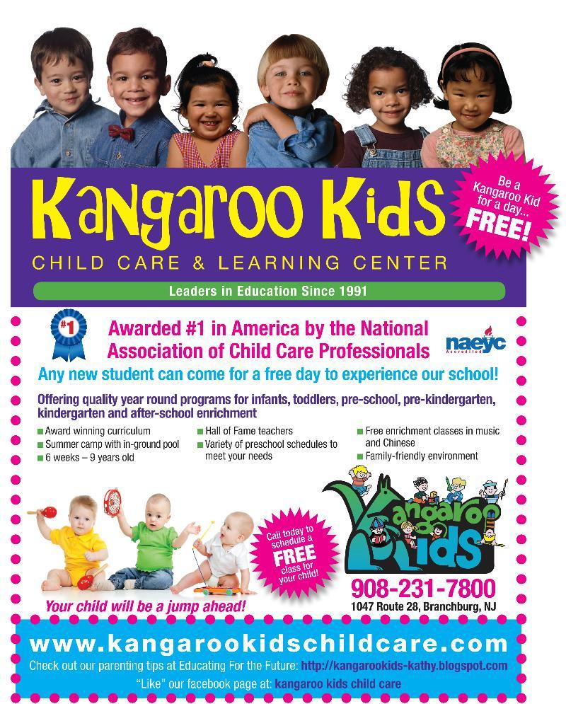 Kangaroo Kids For A Day