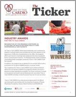 The Ticker Newsletter Spring 2011