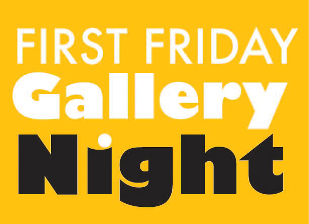 gallery night logo yellow