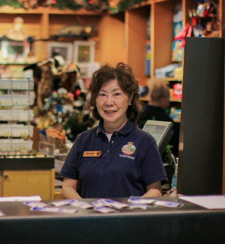 Front desk volunteers are integral to our operations