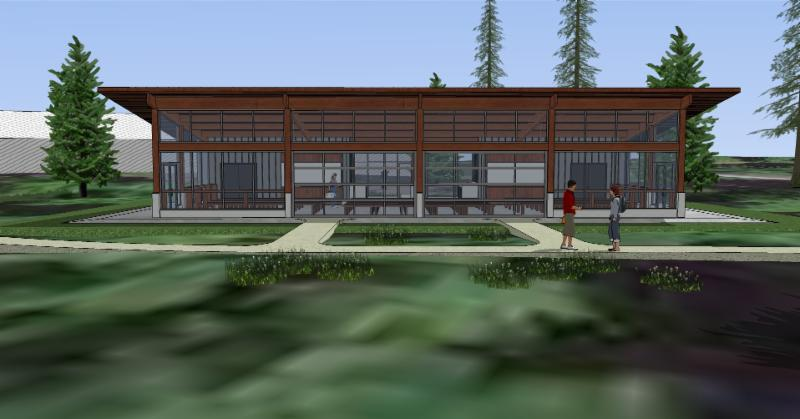 Education pavilion concept photo