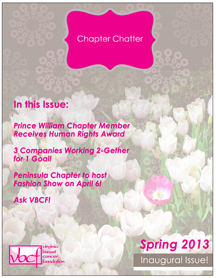 Chapter Chatter Issue 1 - Cover