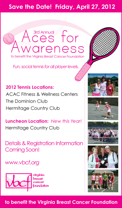 Aces for Awareness - Save the Date 2012