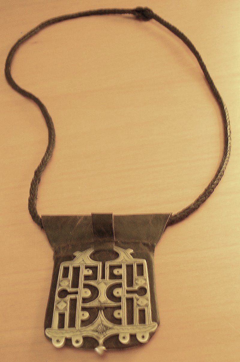 leather necklace 2
