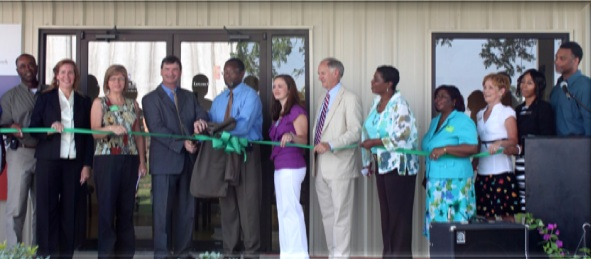 Ribbon Cutting at Leflore County Clinic