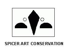 spicer art logo with name