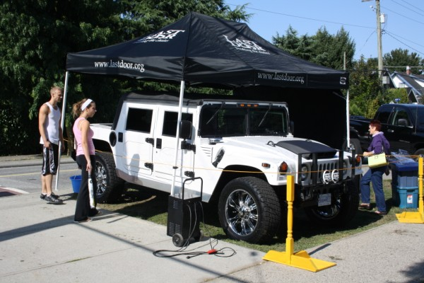 Hummer display