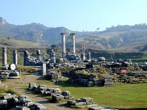 Sardis-Churches of Revelation Tour