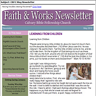 Newsletter Email Version