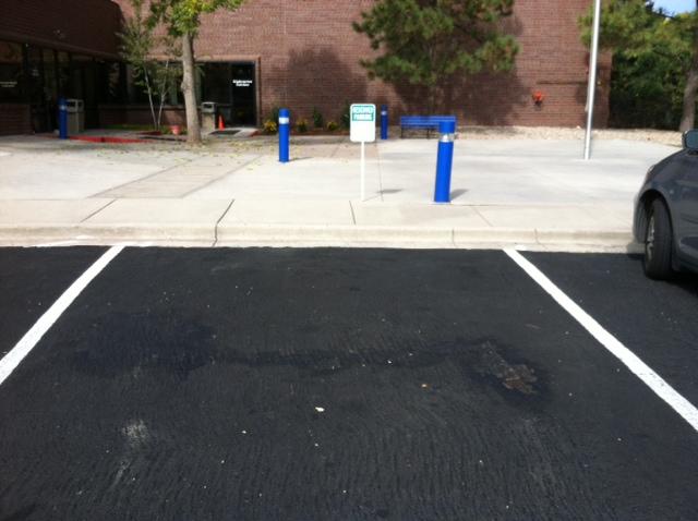 Spring gala parking spot
