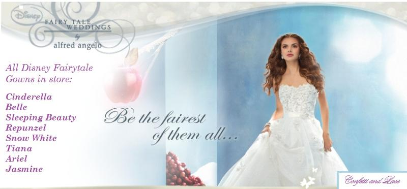 Fairytale Wedding Dress Fashion Show including DISNEY 2013 Princess from