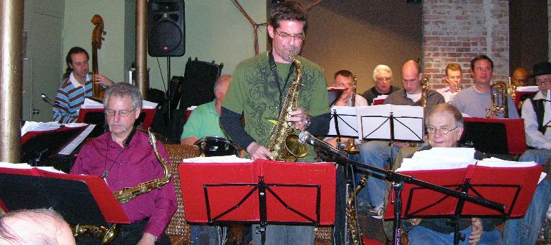 swing band sax