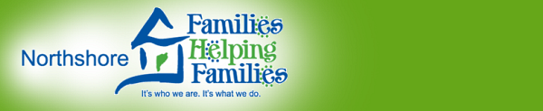 Northshore Families Helping Families Banner