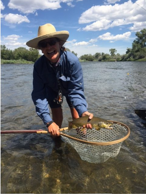 Fly fishing in southwest montana with healing waters lodge for Fly fishing guides near me