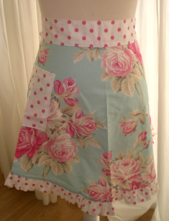 Bliss Ruffled Apron