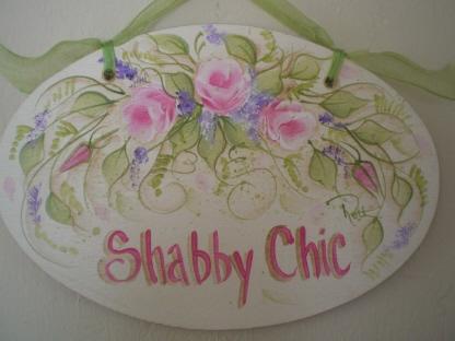 shabby chic plaque