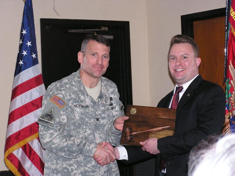 Hoffman award