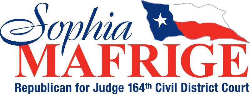 Vote Sophia Mafrige for Judge!