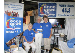Volunteers at AZ State Fair booth