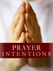 CWM Prayer Intentions